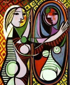 Pablo Picasso - Ragazza davanti allo specchio